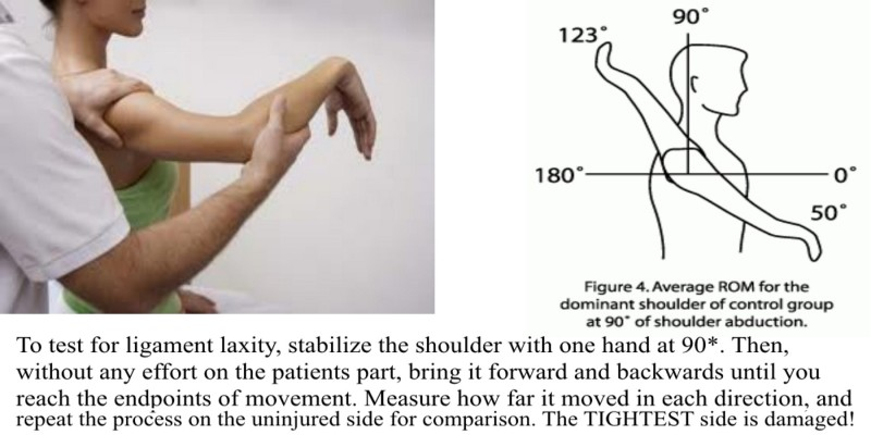 Ligament Laxity Tests