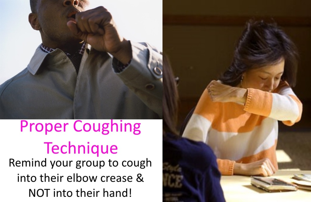 coughing technique
