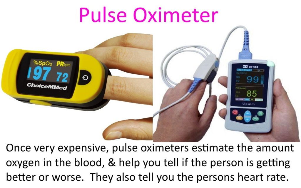 Using a Pulse Oximeter